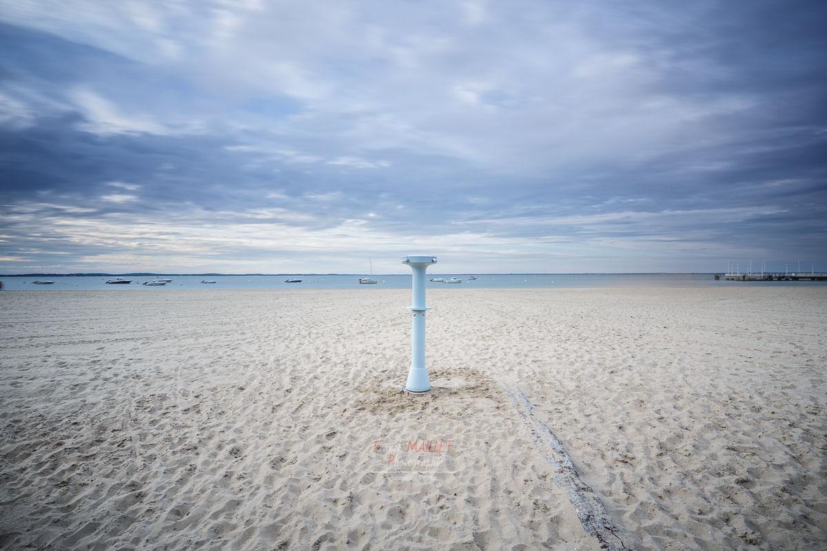 douche | plage | sable | arcachon