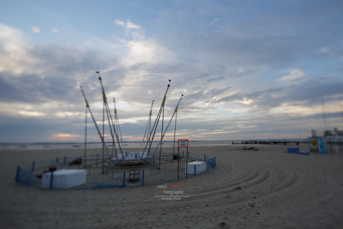 jeux enfant | plage | Arcachon