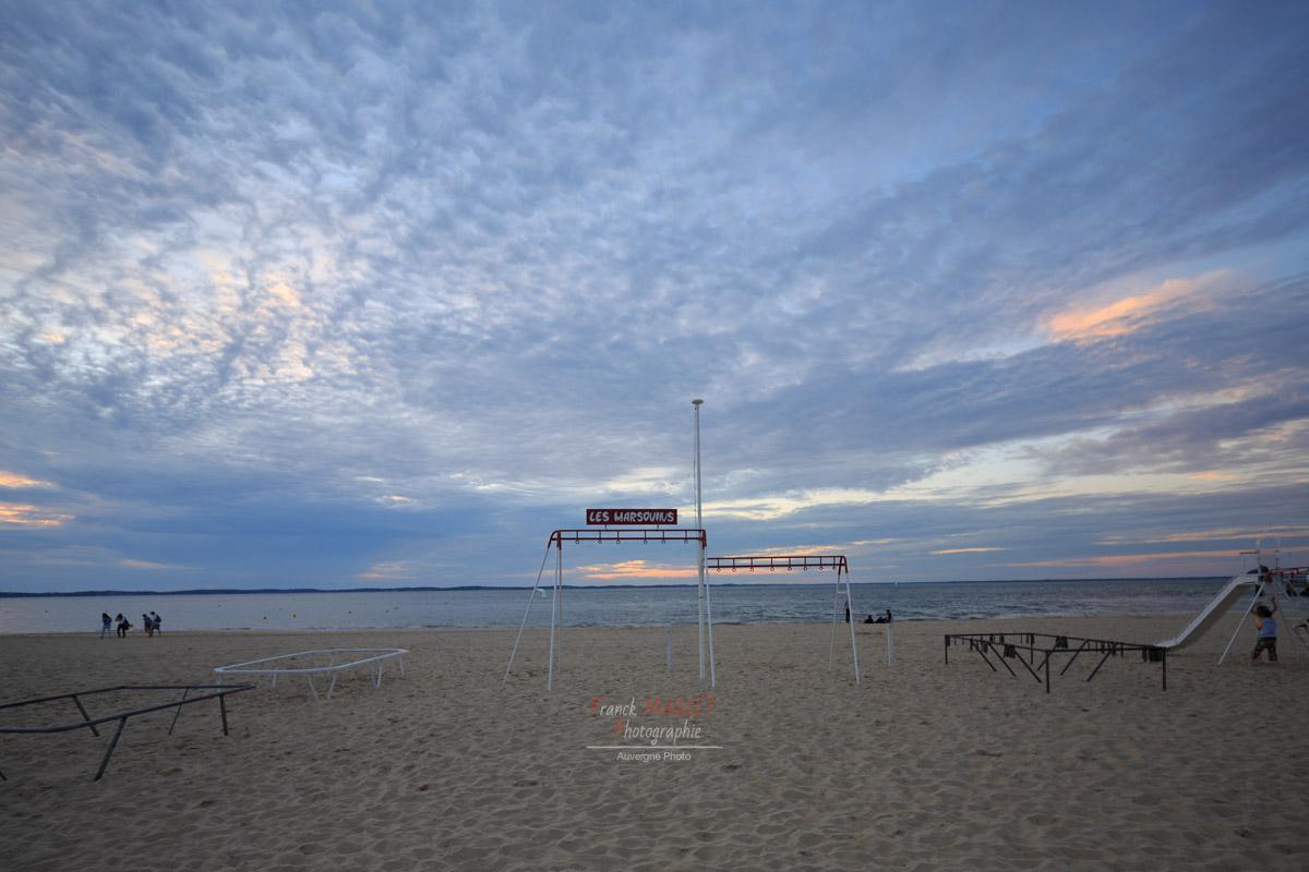 portique enfant | Arcachon | plage